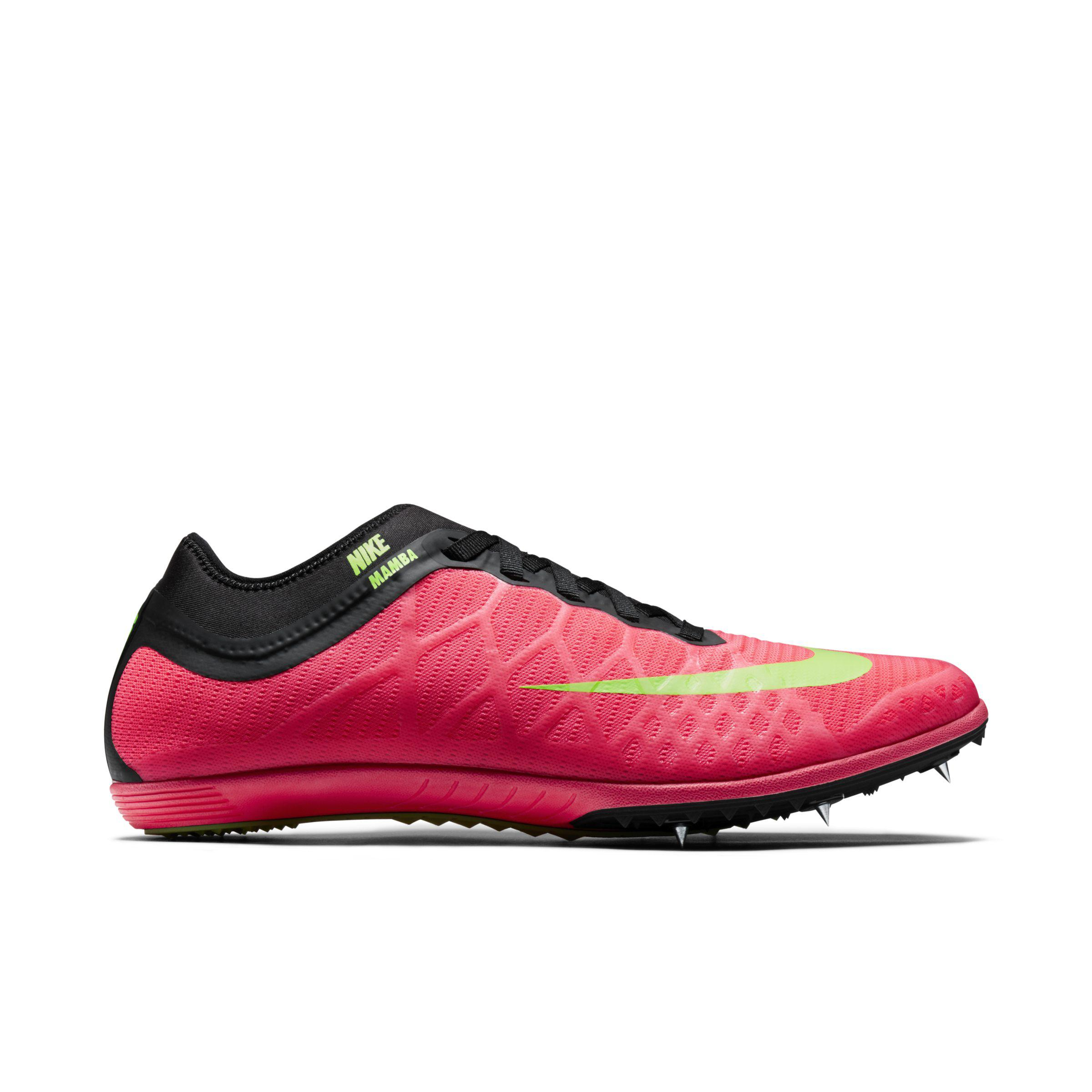 low priced ca883 8d8d8 Nike Zoom Mamba 3 Unisex Distance Spike In Pink Lyst