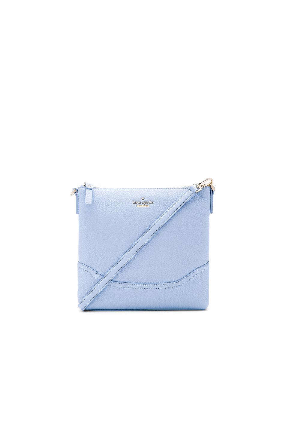 Kate Spade New York Jemma Leather Cross Body Bag In Blue