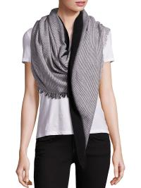 Lyst - Bajra Dot Triangle Wool Scarf in Black