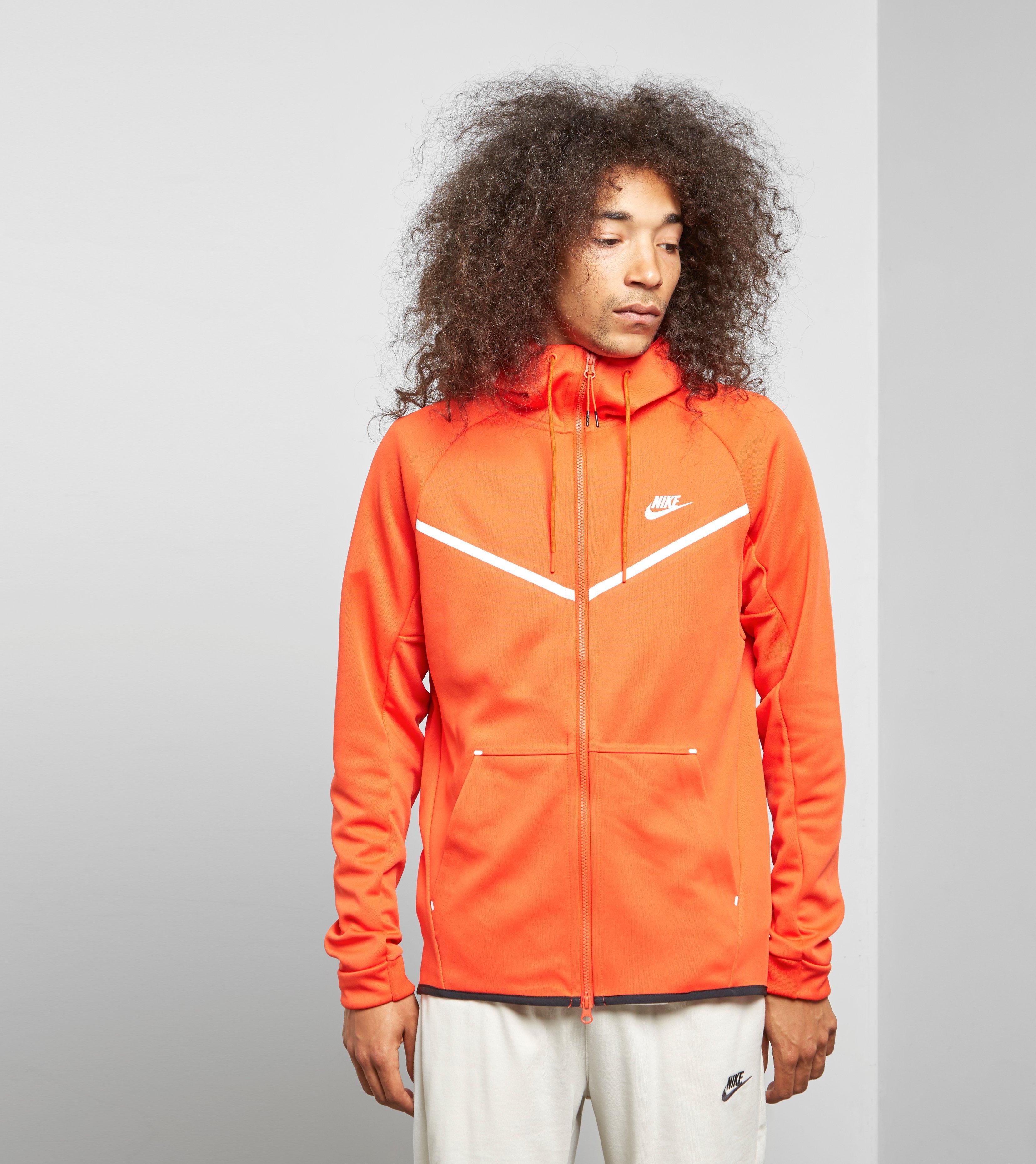 d438dcec3ff95e Nike Fleece Windrunner Full Zip Hoody In Orange For Men Lyst