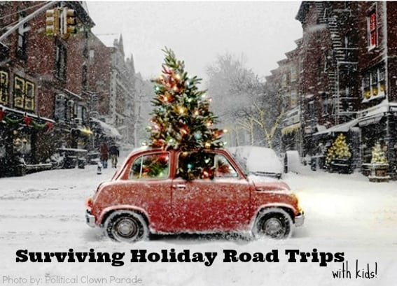 Surviving A Winter Holiday Road Trip With Kids Trekaroo