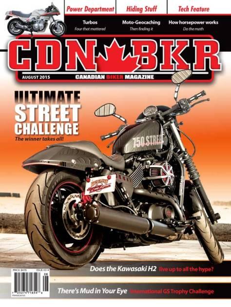 canadian biker