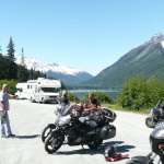 riding in the mountains bc motorcycle tour