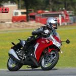 Honda cbr250 track