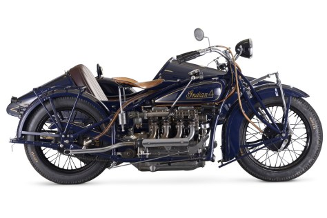 Indian Four Model 402 Combination
