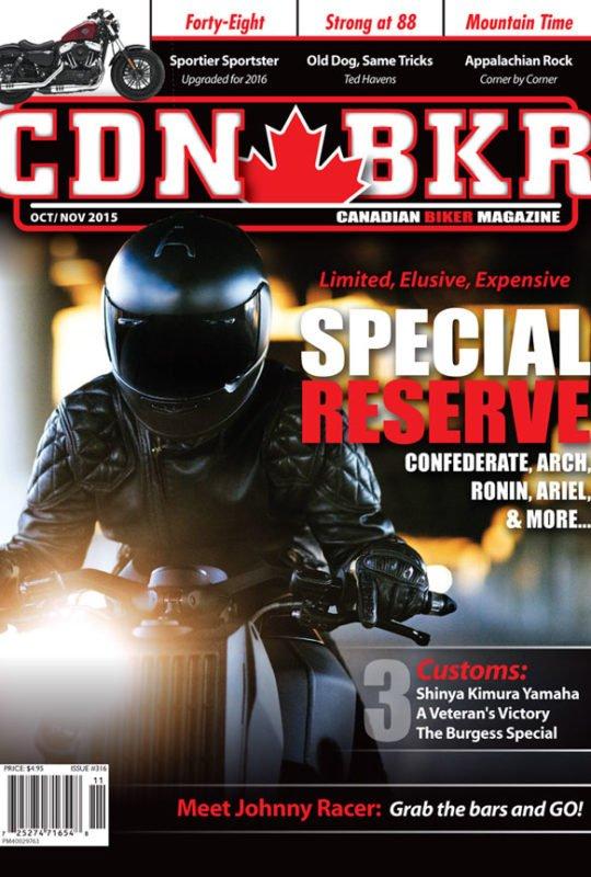 canadian biker arch confederate ronin