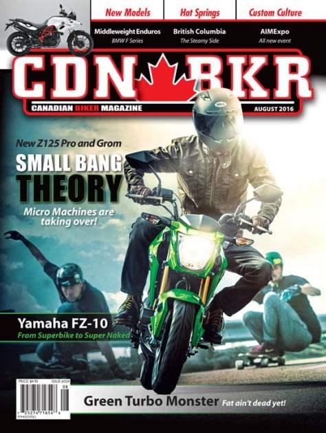 Canadian Biker August 2016