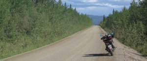 motorcycle touring alaska and yukon