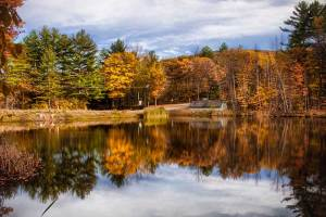 touring New England fall motorcycle