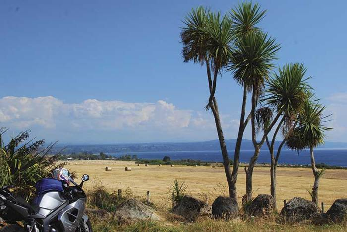 New Zealand by motorcycle