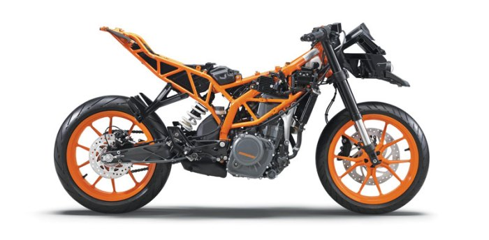 ktm rc390 small displacement sport