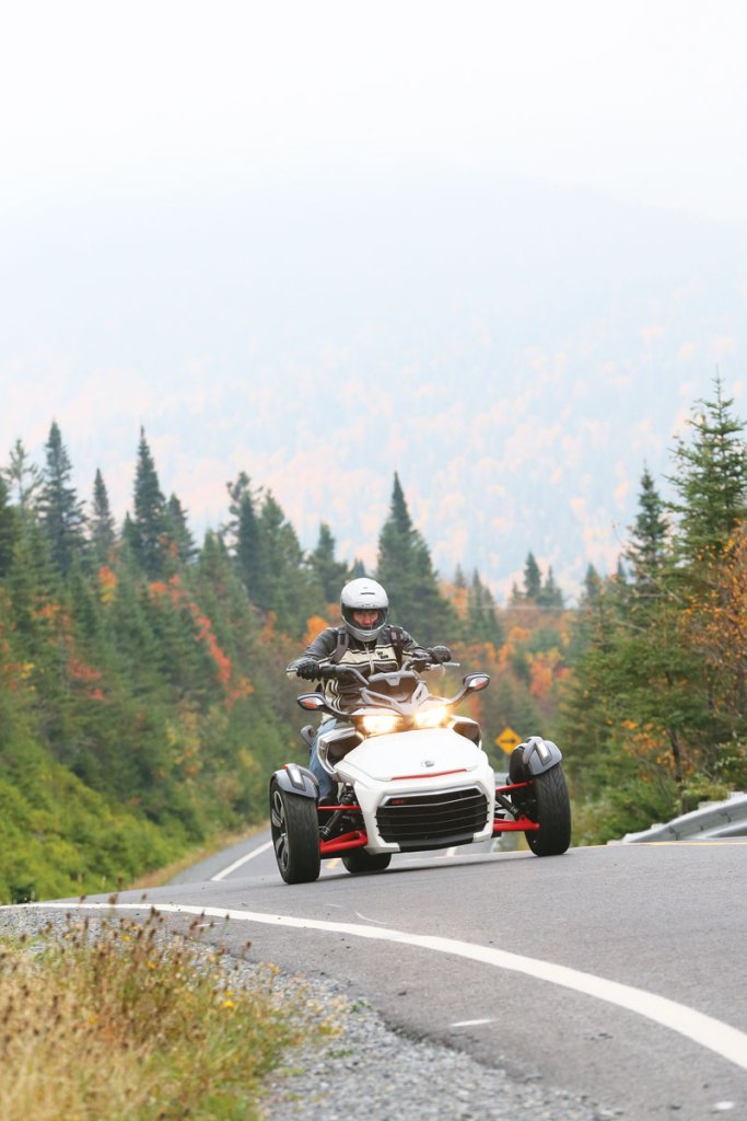 Can-Am Spyder F3 - the sporty one
