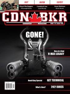 Canadian Biker motorcycle magazine print