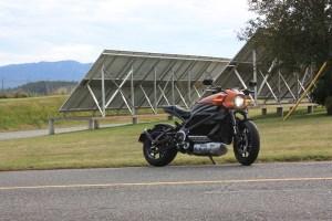 Harley-Davidson LiveWire solar
