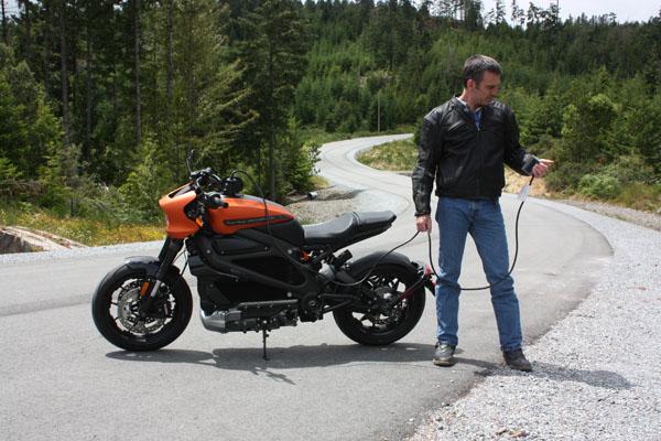 Harley-Davidson LiveWire charging cord