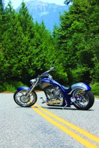 big dog motorcycles k-9 mountain road beauty shot