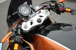 custom orange katana dials
