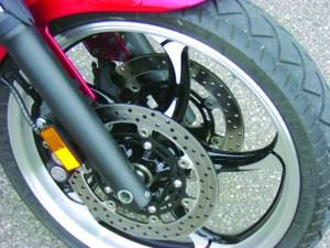 Yamaha Raider brakes