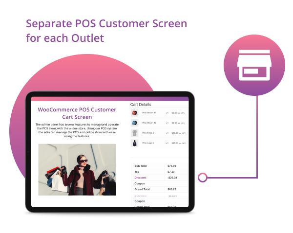 WooCommerce POS Customer Cart Screen - 5
