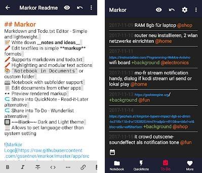 Markor: Markdown Editor - todo txt - Notes Offline 2 1 0 apk