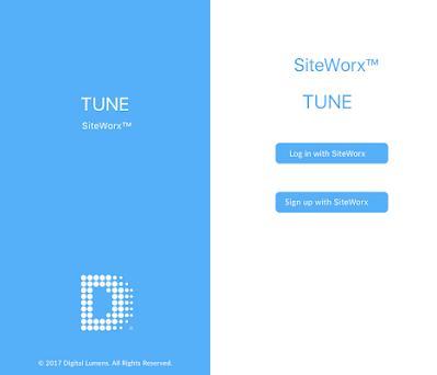 SiteWorx Tune preview screenshot