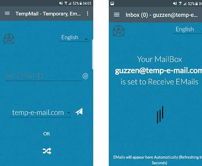 Temporary Email 1 0 apk download for Android • com moakt com