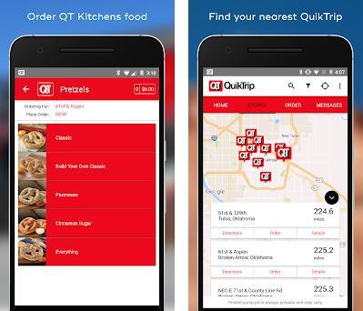 QuikTrip: Food, Coupons, & Fuel preview screenshot