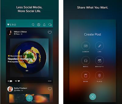 Vero - True Social preview screenshot