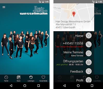 Hair Design Wesselmann preview screenshot