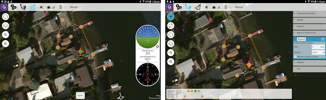 QGroundControl 3 5 4 apk download for Android • org mavlink