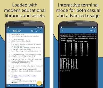 Pydroid 3 - IDE for Python 3 3 02_x86_64 apk download for Android