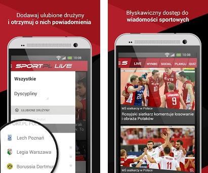 Sport.pl LIVE preview screenshot