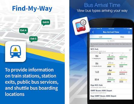 Mytransport Singapore 3 3 1 Apk Download For Android Sg Gov Lta