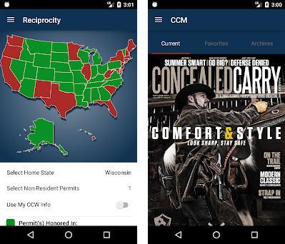 USCCA Concealed Carry App: CCW, Guns, Self-Defense preview screenshot