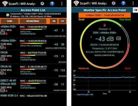 ScanFi : WiFi Analyzer and Surveyor 3 3 apk download for Android