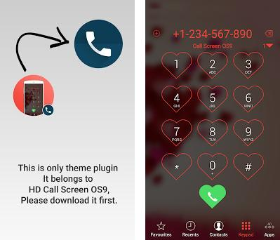 Dialer Theme Love 1 0 1 apk download for Android • com callscreen hd