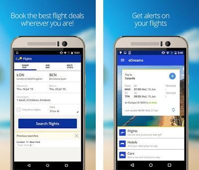 eDreams: Book cheap flights and travel deals preview screenshot