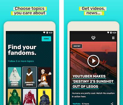 FANDOM – Videos, News, and Reviews preview screenshot