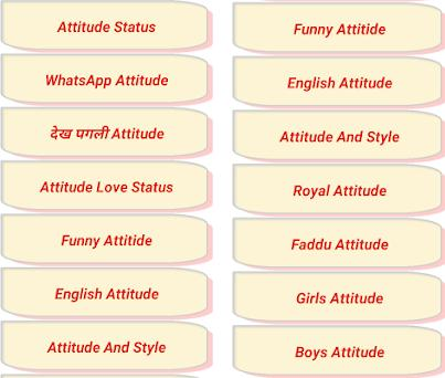 Attitude Status 2018 4 0 apk download for Android • com hc