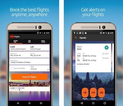 Opodo: Book cheap flights and travel deals preview screenshot