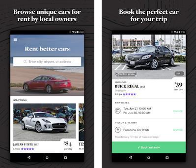 Turo - Better Than Car Rental preview screenshot