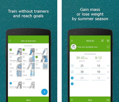 Hi Fitness - workouts for beginners at home preview screenshot