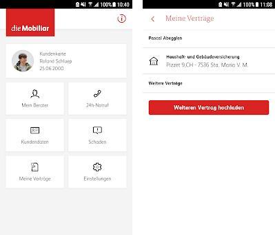 Meine Mobiliar preview screenshot