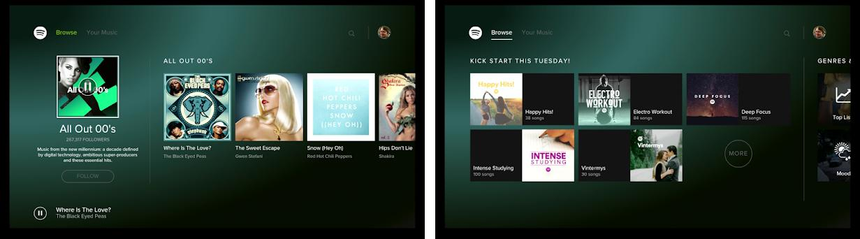 Spotify Music - for Android TV 1 17 0 apk download for Android • com