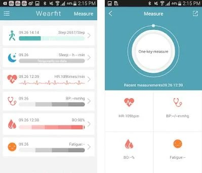 Wearfit 3 0 4 apk download for Android • com wakeup smartband