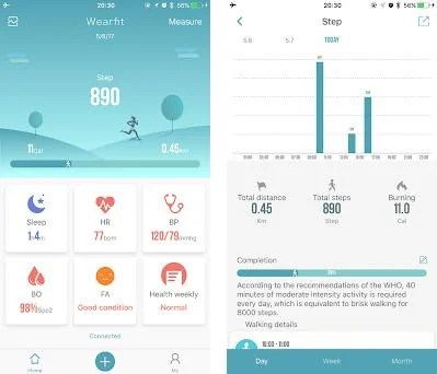 WearFit2 0 1 4 8 apk download for Android • com wakeup wearfit2