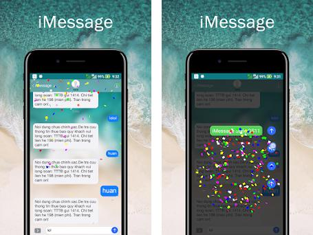 iMessage style OS11 14 apk download for Android • com messenger