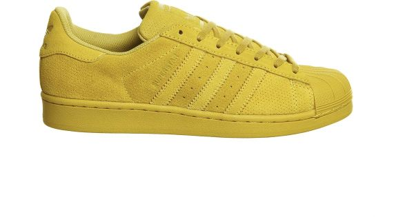 Adidas originals Superstar 1 Suede LowTop Sneakers in