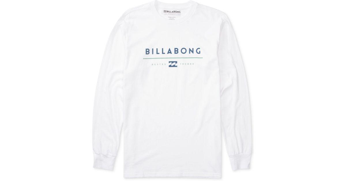 Billabong Men's Understand Graphic-print Logo Long-sleeve