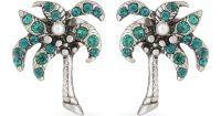 Lyst - Marc Jacobs Palm Tree Stud Earrings